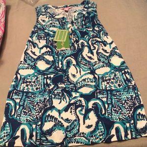 Lilly Pulitzer Mini Essie Shift Dress